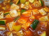 鶏肉のトマトソース煮^^