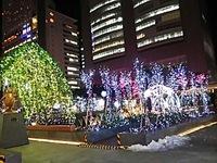 新宿駅まわりのイルミネーション
