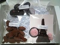 バラ色のチョコ♥