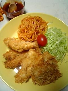 今日の晩ご飯♥