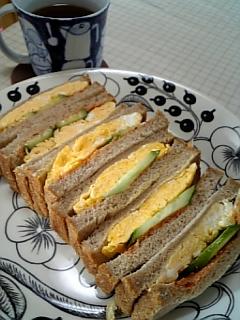 関西の卵サンド♥