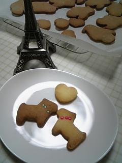 クッキー製造中♥