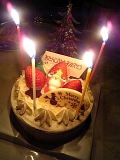 誕生日&Xmas♥