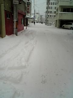 大雪でしたね・・・