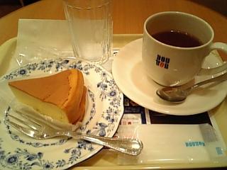 ケーキセット♥ドトール