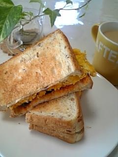 今日の朝食♥