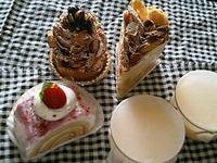 魔法のランプのケーキ