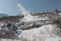 磐梯山の噴気 2010/02/21 20:00:00