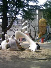 福島の児童公園へ♪