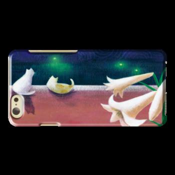 青江鞠さんのオリジナル携帯ケース(ハードカバータイプ)