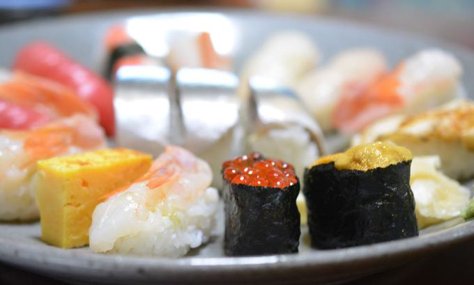今夜はお寿司