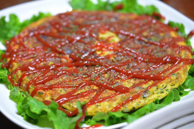 omelette、mariné