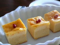 カフェ飯レシビ/3アイテムチーズケーキ