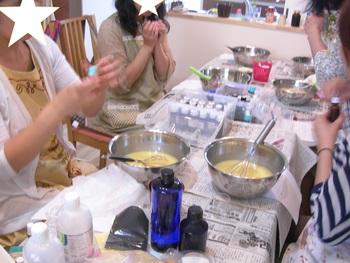 手作り石鹸ワークショップ