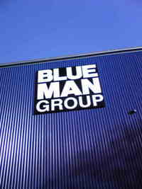 【BLUE MAN GROUP SHOW】