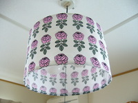 fabric lampshade