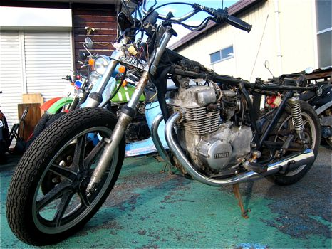 XS250SPチョッパー化計画