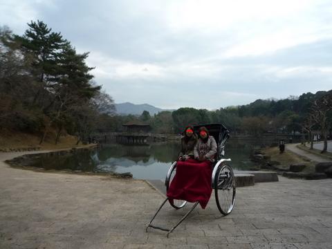 母とふたりで奈良をぶらりと(奈良)