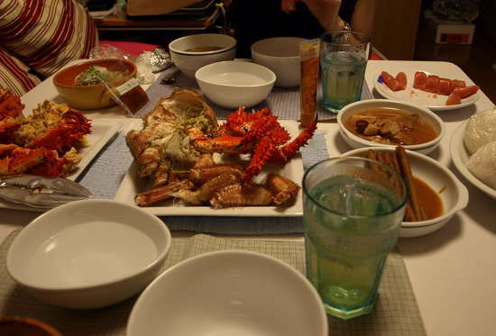蟹を食す!!by 釧路漁港