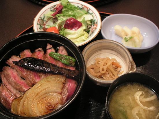 ステーキ丼 by 今半(有楽町)