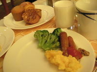 ウェスティンの朝食はすごい!