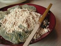 母娘で大好きな草わらび餅です(京都)