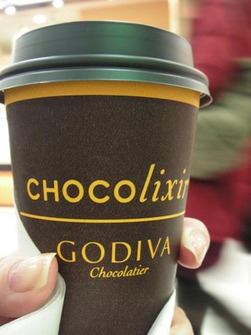 GODIVAのホットチョコリキサーです!