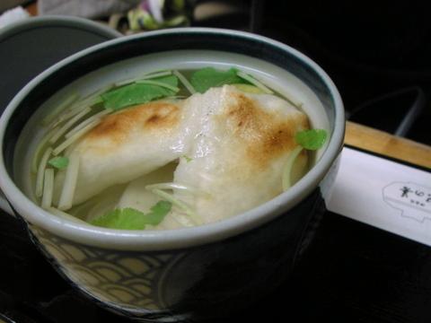 紀の善でぜんざい&抹茶ババロアを食べる!(神楽坂)