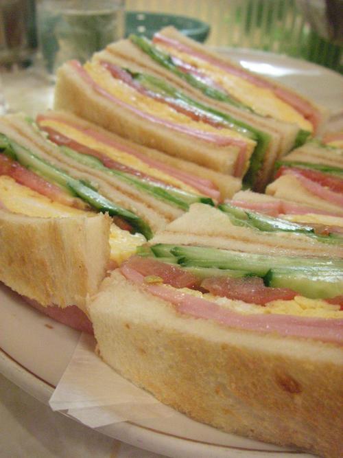 サンドゥイッチ by はまの屋パーラー(有楽町)
