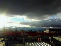 今日の雲は…アイツに似てる!…でも名前出てこない!!