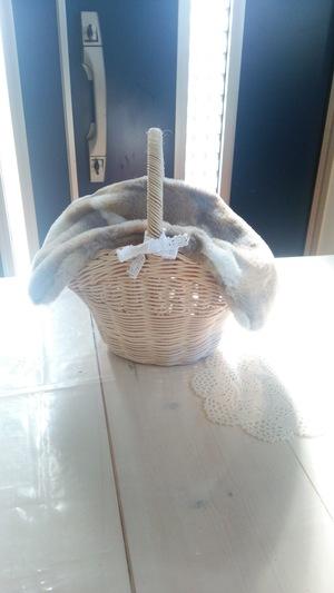 12月のかご編み教室♪