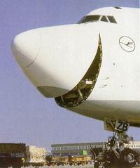 笑う飛行機