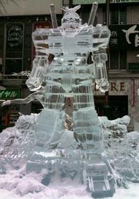 氷の彫像ガンダム