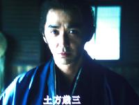 新選組では鬼の副長と称された土方 歳三(演:村上 淳さん)